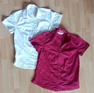 Northern Reflections Shirts Lot of 2 Short Sleeve